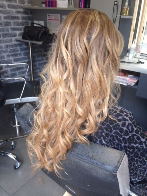 Degrade Long Glamour Ombré Hair